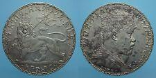 ETIOPIA 1 BIRR EE 1892 MENELIK II SPL