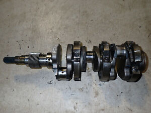 Kubota D1703-M-ET08 1.7L 3 Cylinder Diesel Engine Crankshaft