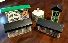 Thomas Train Wooden Buildings CONTROL TOWER / VINTAGE HOUSES / GRIST MILL