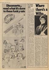 Dr. Feelgood Wilko Johnson where there's a ... Interview/article 1976