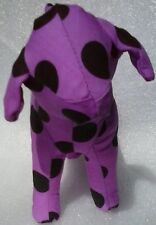 "New Collectible Limited Victoria's Secret Pink ""Happy"" Purple Plush Stuffed Dog"