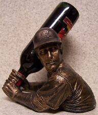 Wine Bottle Holder Bam Vino Sculpture MLB Milwaukee Brewers Baseball Batter NEW