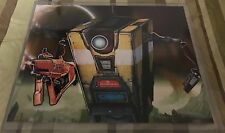 "Borderlands - Claptrap 8"" x 10"" Print with Top Loader"