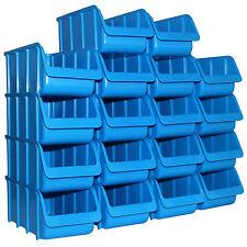 18x Sichtbox PP Größe 2/L blau NEU 18er Set Profi-Sichtboxen Sicht-Lagerboxen