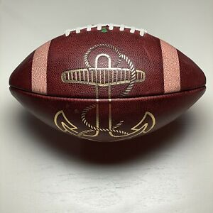 Navy Midshipmen Game Ball Anchor Logo - Big Game USA NCAA Football