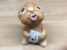 "Pendelfin Studios ""Rolly"" Figurine Ornament hand painted Sone craft Rabbit Baby"