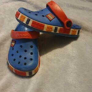 Crocs Lego Boys 12-13 Crocband Clogs
