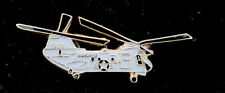 CH-46 SEA KNIGHT US MARINES HAT PIN BATTLE LOS ANGELES LA MCAS HELICOPTER WOW