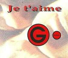 G POINT - Je t'aime