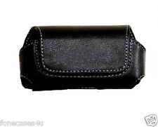 NEW BLACK LEATHER CASE COVER FOR  6210 6500 SLIDE 7100