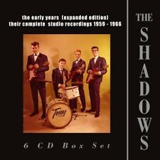 THE SHADOWS - EARLY YEARS(EXPANDED EDITION)1959-1966,THE 6 CD NEUF