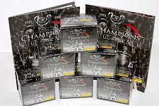 Panini CHAMPIONS OF EUROPE 2005 - 6 x DISPLAY BOX sealed/OVP + 2 x ALBUM TOP!