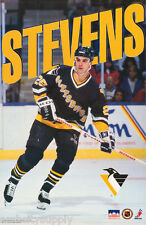 POSTER: NHL HOCKEY:  KEVIN STEVENS - PITTSBURGH PENGUINS - FREE SHIPPING RW13 O