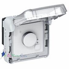 Thermostat électronique d'ambiance composable étanche Plexo Legrand 69508