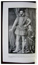 1918 Biography - SIR WALTER RALEIGH - Portrait Illustration - 11