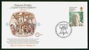 Mayfairstamps Great Britain FDC 1976 Bicentennial Amer Indep Ben Franklin First