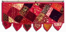 "38"" TRENDY SARI BEADED DOOR WINDOW HANGING CURTAIN DRAPE TAPESTRY VALANCE TORAN"