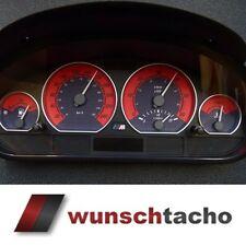 """Tachoscheibe Tacho BMW E46 """"Red""""  250 Kmh M3 für Diesel ."""