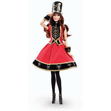 FAO Schwarz Soldier Barbie doll NRFB brunette