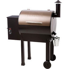 Pellet Grill and Smoker  Traeger Grills Lil Tex Elite 22 Wood Grill Smoker BBQ