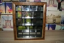 Thimble Cabinet Display Case mirror inside 2 of 2