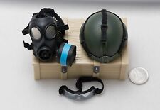 1/6 Soldier Story SDU Assaulter K9 MICH Helmet Goggles Gask Mask Lot *TOY*