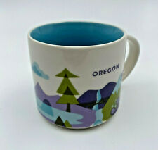 Starbucks You Are Here Collection Ceramic Coffee Mug Oregon 14 floz 2015