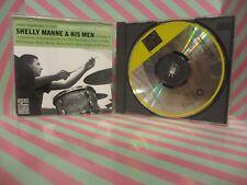 SHELLY MANNE & HIS MEN VOL 1 The West Coast Sound CD OJCCD-152-2