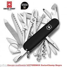 Navaja Suiza Victorinox Swisschamp negra tienda Primeraocasion