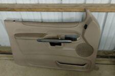 FORD EXPLORER SPORT DOOR PANEL DRIVER SIDE 2-DOOR TAN OEM 2001-2003