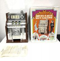 AS IS Silver Eagle Slot Machine Toy - 1977 Poynter - Roaring Twenties in box