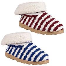 Divaz Latvia Slip-On Bootie Warm Faux Fur Ladies Womens Slippers
