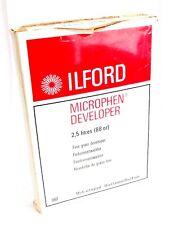 Ilford Microphen Developer for B&W Film Makes 2.5 Litres *647