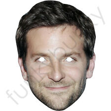 Bradley cooper american célébrité en carton masque, tous nos masques sont pré-découpées