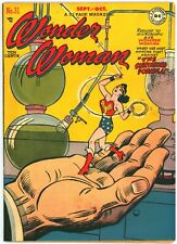 New ListingWonder Woman #31 F/Vf 7.0 (ct) (Dc, 9-10/1948) H.G. Peter *color touch front cvr