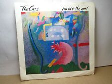 Old 45 RPM Picture Sleeve - Elektra 7-69446 - Cars - You are the Girl / Ta Ta Wa