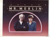 Mr, Merlin   CBS TV press photo MBX55