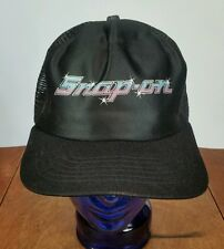 Vintage 70s 80s Snap On Tools Hat Cap Trucker Snapback Motorcycle Satin New Era
