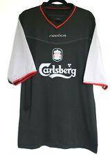 """Liverpool FC Shirt 2002/2003/2004 Away XL  3rd 46 - 48"""" Reebok"""