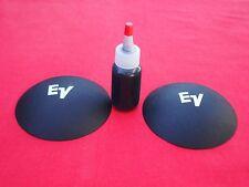"4.125"" EV SPEAKER PAPER DUST CAP KIT. SPEAKER PARTS."