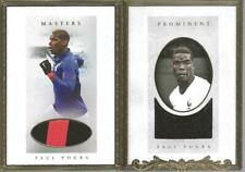 Paul Pogba 2020 Futera Masters Prominent Game Used Jersey /15 France