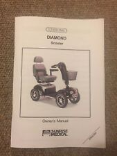 Sunrise Medical Sterling Diamond Mobility Scooter Owner's Manual Instructions Gu