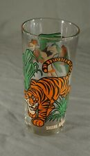 Original Vintage Character Glass - Shere Kahn The Jungle Book (Inv No. 843)