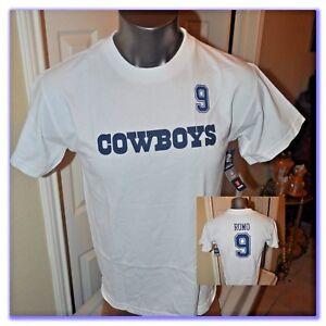 Dallas Cowboys Tony Romo Jersey Shirt Youth T-Shirt SZ M-XL New with Tags