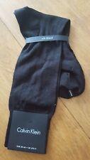 Calvin Klein Black Silk Blend Mid Calf Socks. UK 6.5-11. NEW. £14
