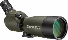 Barska AD12706 20-60x60 Blackhawk Spotting Scope, Green, Angled