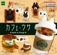 EPOCH Cafe la Usagi Gashapon 6 set mini figure capsule toys Japan