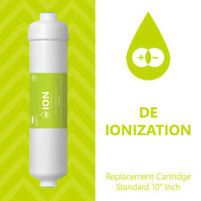 Deionization Water Filter Replacement – RO DI Mixed Bed Purifier – Inline