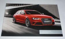 Audi RS4 Avant Brochure (2013)