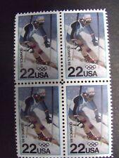 US Postage Stamps 1988  Winter Olympics  Scott 2369  4-22c